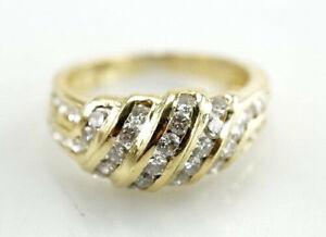 Eleganter-750er-Ring-Gold-Brillant-18-Karat-Gelbgold-4-44-Gramm-Gr-54