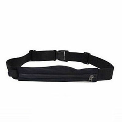 Men Womens Running Bum Bag Travel Handy Sport Fanny Pack Waist Belt Zip Pouch