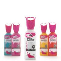 TULIP GLITTER 3D dimensional fabric paint 37ml - Various Colours