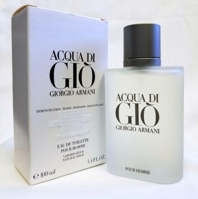 Giorgio Armani Acqua Di Gio EDT 100 Ml 3.4 Oz New Tester In Box