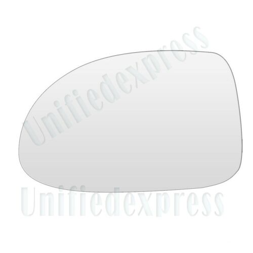 """MIRROR-GLASS+ADHESIVE PAD~5/"""" x 7/"""" NON-FOLDING ONLY POWER//MANUAL LEFT DRIVER SIDE"""