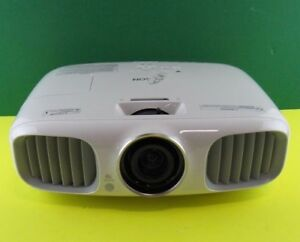 Used Epson PowerLite Home Cinema 3020 LCD Projector Lamp 2725 H ...