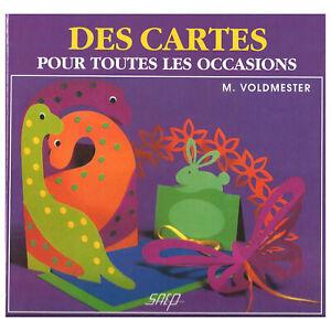 CARTERIE POUR TOUTES LES OCCASIONS  66 pages - LIVRE NEUF LOISIRS CREATIFS