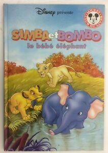 Details Sur Disney Simba Et Bombo Le Bebe Elephant Mickey Club Livre