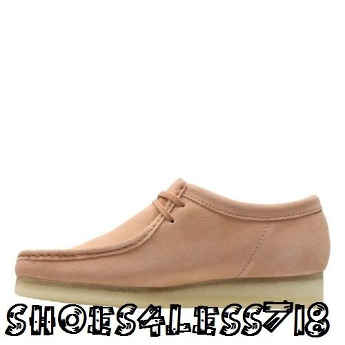 NEW EDITION CLARKS ORIGINALS MEN WALLBEE LOW LIMITED EDITION NEW SAND STONE SUEDE MOCCASSIN eb64b0