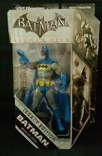 DC Universe Batman Arkham City Legacy Edition Blue Batsuit Mattel RARE