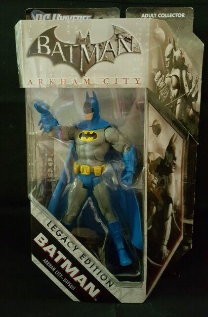 DC Universe Batman Arkham City Legacy Edition Blue Batsuit Mattel