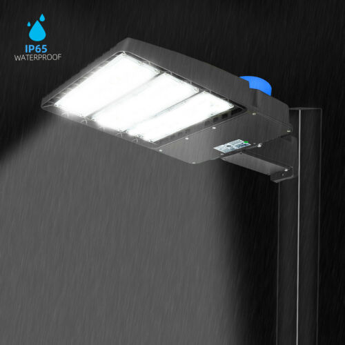 300W LED Street Light Outdoor Dusk to Dawn Sensor Waterproof Security Lighting