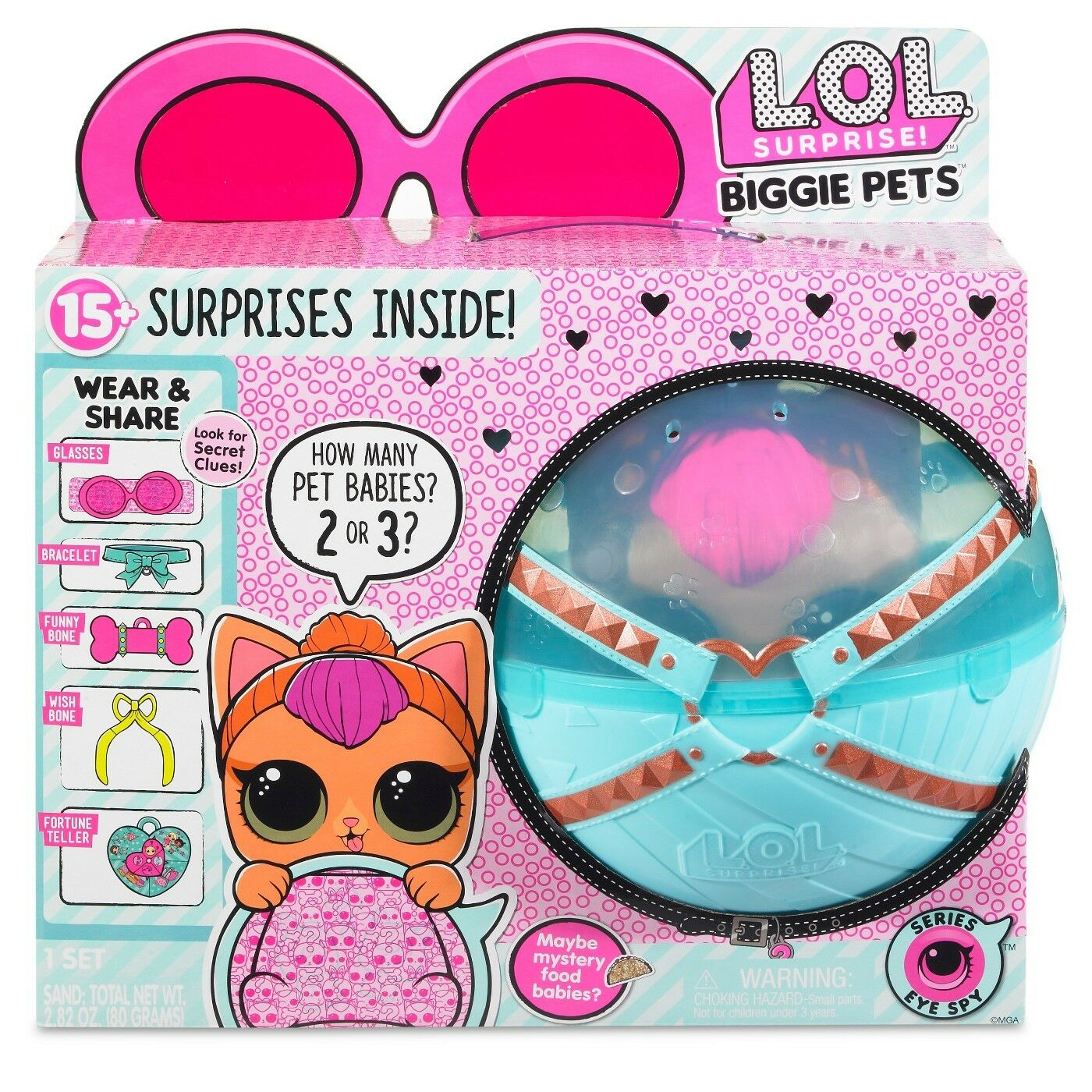 Surprise Bling Series 2-Pack Limited Edition LOL Doll Figure Set CHOP L.O.L