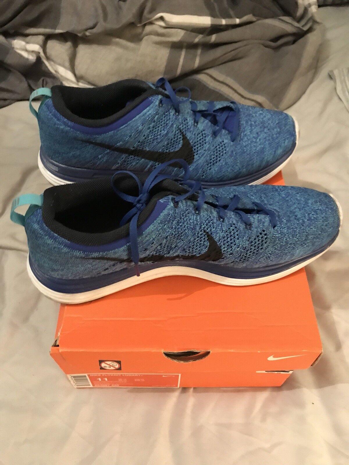 Nike Flyknit lunar 1 Rare Uk 10