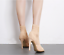 Fashion-Women-Stiletto-High-Heel-Ankle-Boots-Knit-Stretch-Peep-Toe-Shoes-Booties thumbnail 5