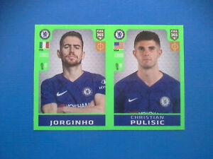 Figurine-Panini-Fifa-365-2019-20-2020-n-21-Jorginho-Pulisic-Chelsea