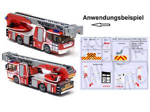 Mickon 50110 Decals MB Econic DLK Feuerwehr Bremen passend für Wiking 1:87 H0