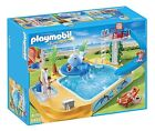 PLAYMOBIL 5433 Summer Fun Childrens Pool With Whale Fountain