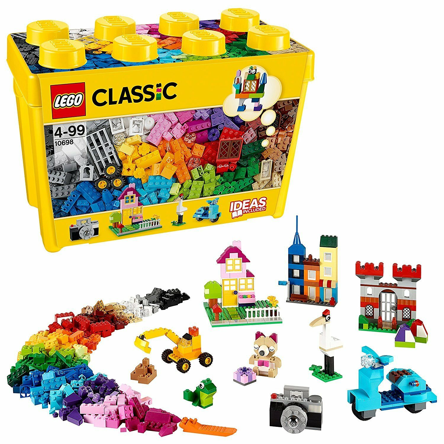 LEGO 10698 Classic Large Creative Box Set Open Ended Imaginative Building Play