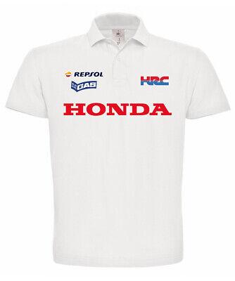 Polo Manica Corta Honda Cbr Repsol Hrc Hornet Acquista Sempre Bene