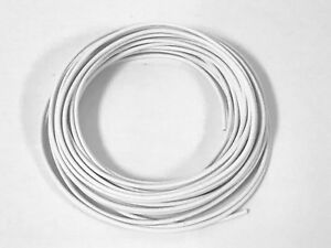 AUTOMOTIVE-WIRE-12-GAUGE-GA-HIGH-TEMP-GXL-COPPER-WIRE-WHITE-25-039-U-S-A-MADE