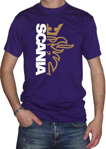 Fm10 T-Shirt Herren Scania Truck Tir Lkw Sport