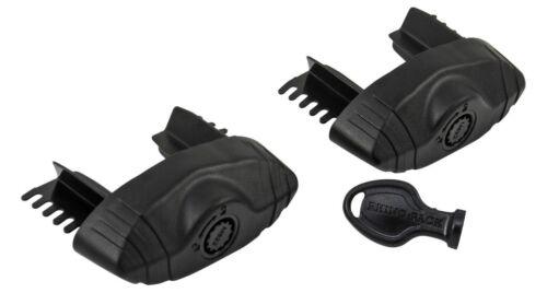 Rhino Roof Rack Vortex Sports 1xBar Secure Core Locking End Caps x2 VA-SEC2
