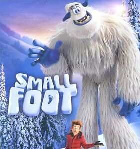 Smallfoot-2018-PG-animated-musical-comedy-adventure-movie-new-DVD-small-foot