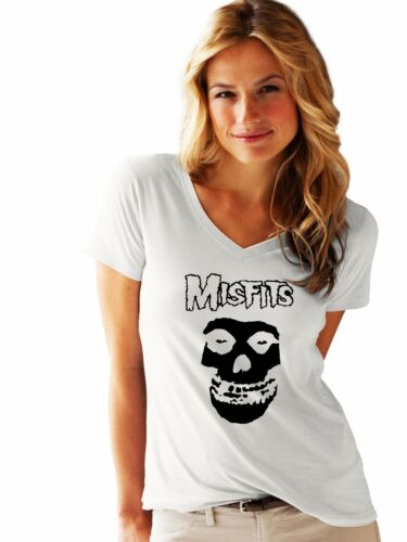 MISFITS damen lady LOGO NEW T-SHIRT FRUIT OF THE LOOM woman