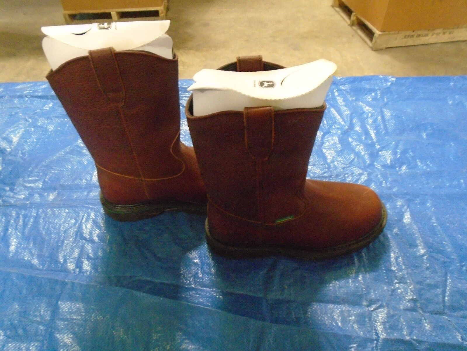 NEW DEALERS JOHN DEERE JD4283 Uomo SIZE SIZE SIZE 7 M DARK BROWN WATERPROOF PULL-ON BOOT a13224