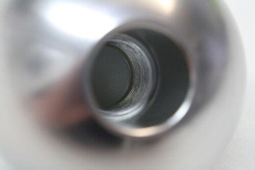 """Camaro//Firebird Billet Aluminum Silver 6 Speed Manual Shift Knob NEW 2.25/"""""""