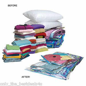 Image Is Loading 50x70 Vacuum Storage Bags E Saving Clothes Travel