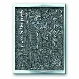 John Lennon - Power to the People Lapel Pin [Metal/Enamel] Beatles Memorabilia