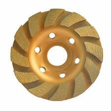 Gunpla 4 Inch Concrete Turbo Diamond Grinding Disc Wheel 12 Segs Cup Masonry Gra