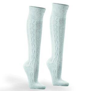 Trachtenstruempfe-Trachten-Socken-reinweiss-NEU