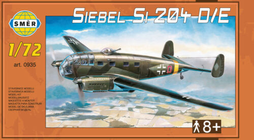 LUFTWAFFE MARKINGS Siebel Si-204 D//E avion de transport #0935 1//72 Smer