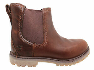 Chelsea Donna Timberland Scarponcini Authentics Slip Earthkeeper Da On Marrone qttFwp