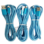 miniature 2 - 3Pack USB Fast Charger Cable 3ft 6ft 10ft For iPhone 12 11 8 7 6 X Charging Cord