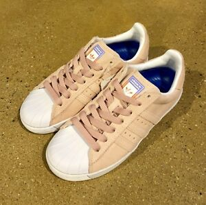 659fc5a6bdb Image is loading Adidas-Skateboarding-Superstar-Vulc-ADV-Pastel-Pink-Size-