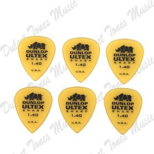 6-x-Dunlop-Ultex-Sharp-EXTRA-HEAVY-1-4mm-Guitar-Picks-Plectrum-FAST-POST
