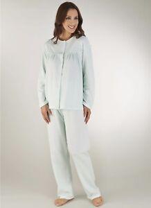 Per E PyjamaTessuto Calore MorbidoSpazzolato All'interno Donna Slenderella QrthxdCs
