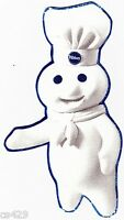 6.5 Pillsbury Doughboy Apples Wall Safe Sticker Character Border Cutout