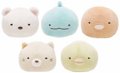 Soft Plush San-X Sumikko Gurashi Cute Doll 5 kinds 2.5 mascot mochipettan Japan