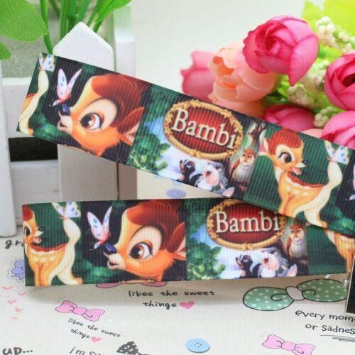 7//8 INCH 22mm GROSGRAIN RIBBON Hair Bow Supplies WHOLESALE Bambi