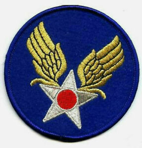USAAF Armée Air Force Insignes Collections : WWII Vintage Patch (Thermocollant)