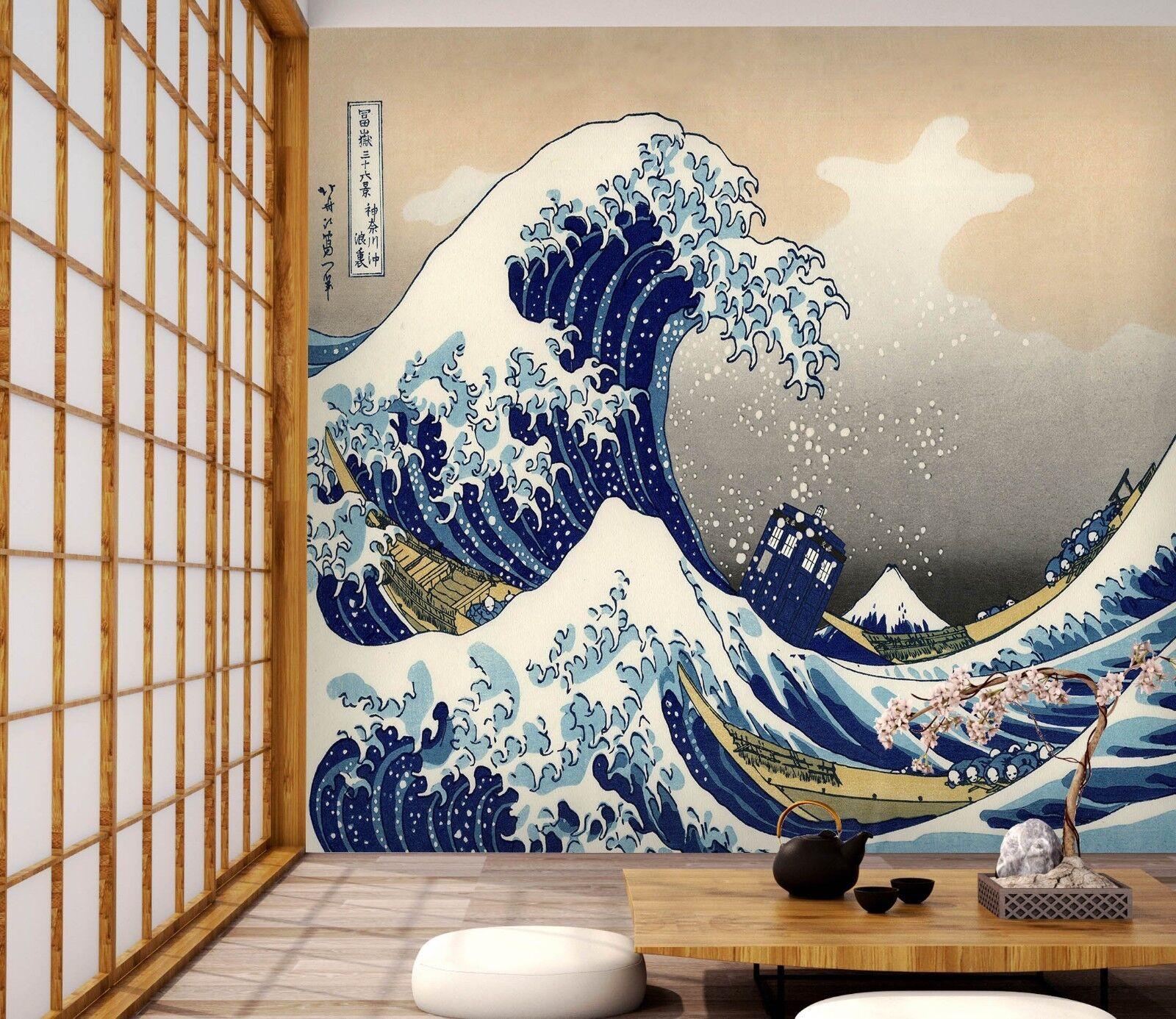 3D Ocean Surf Boat 466 Wall Paper Wall Print Decal Wall Deco Indoor Wall Murals