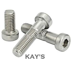 Zinc Plated Steel Socket Cap Screws Hex Head Key Bolts M5 X 40MM ALLEN BOLT
