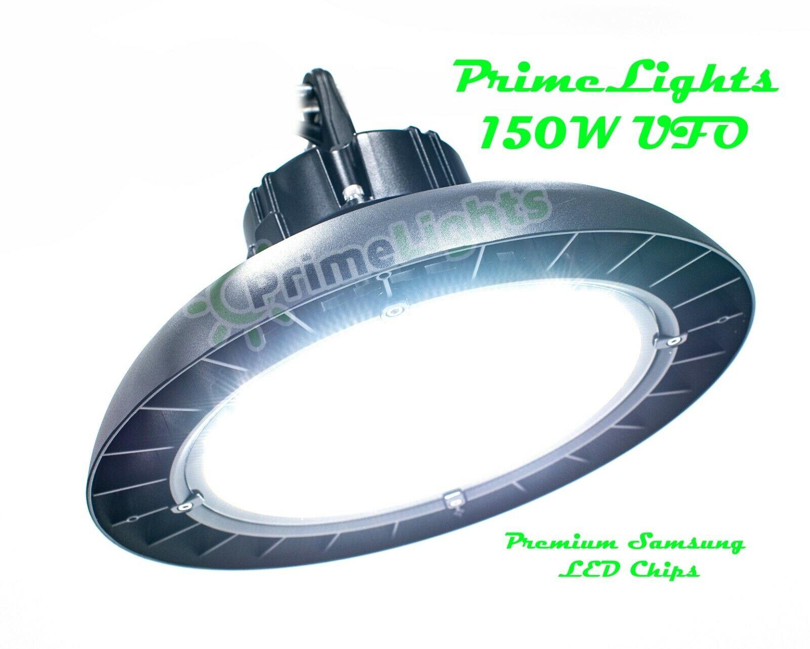 150 Watt Bright Light Fixture UFO 19,500 Lumens Shop Light DAYLIGHT 5000K DIM