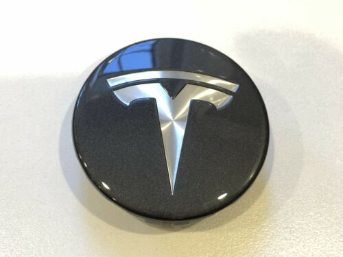 2012-2019 New Tesla Model S X /& 3 Grey OEM Wheel Center Cap Cover 6005879-00-A