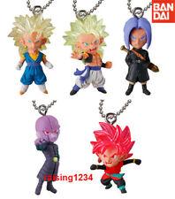 2017 Bandai Gashapon UDM THE BEST 21 ~ Set of 5 ~ Dragon Ball SUPER Keychain