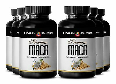 Peruvian Maca Root Extract Powder and Tribulus Blend - Sexual Health Energy - 6B