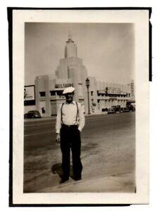 CA-California-Los-Angeles-Hollywood-Wilshire-Restaurant-Vintage-Snapshot-Photo