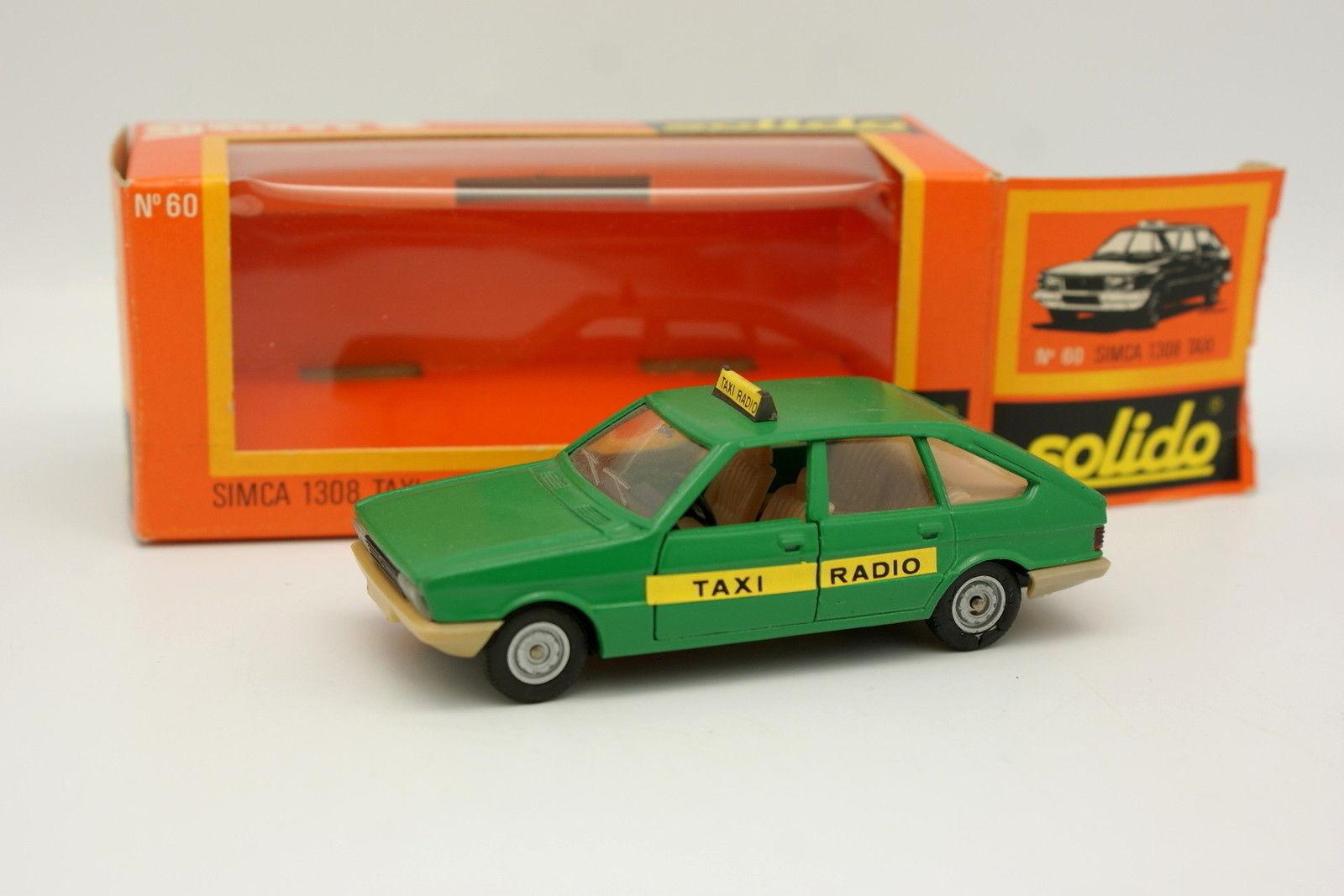 Solido 1 43 - Simca 1308 Taxi Radio