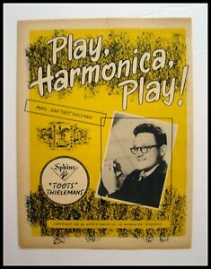 FOR-THE-SERIOUS-COLLECTOR-1950s-034-TOOTS-THIELEMANS-034-PLAY-HARMONICA-PLAY-SONG